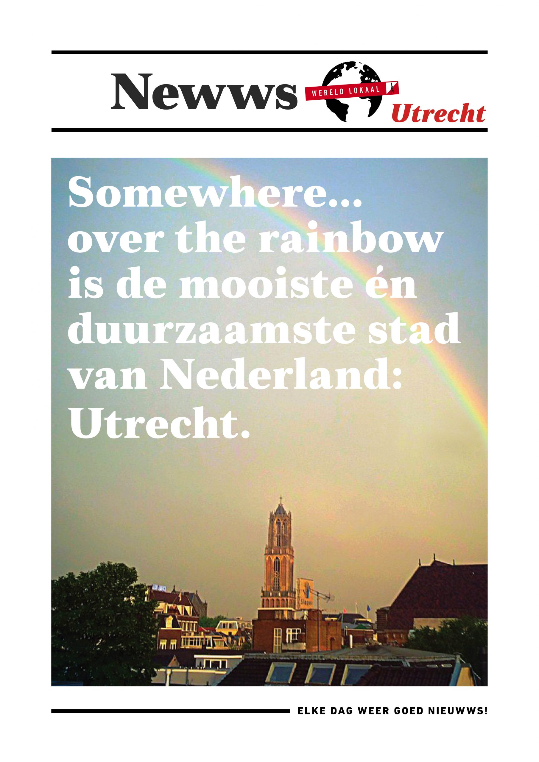 Newws home - Somewhere over the rainbow Utrecht min